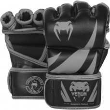 ММА Ръкавици Venum Challenger Gloves black grey