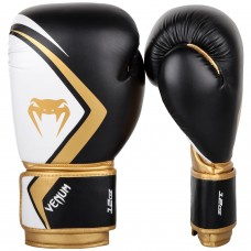 Боксови ръкавици Venum Contender 2.0 Boxing Gloves black white gold