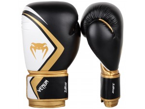 Боксови ръкавици Venum Contender 2.0 Boxing Gloves black white gold