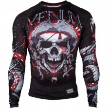 Рашгард Venum Pirate 3.0 Rashguard black red