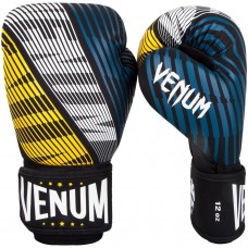 Боксови ръкавици Venum Plasma Boxing Gloves black yellow