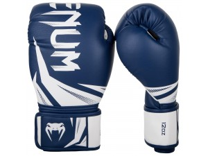 Боксови ръкавици Venum Challenger 3.0 Boxing Gloves navy blue white