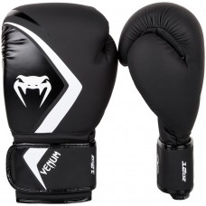 Боксови ръкавици Venum Contender 2.0 Boxing Gloves black grey white
