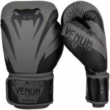 Боксови ръкавици Venum Impact Boxing Gloves grey black