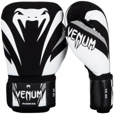 Боксови ръкавици Venum Impact Boxing Gloves black white