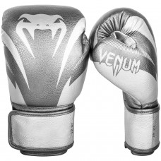 Боксови ръкавици Venum Impact Boxing Gloves silver silver