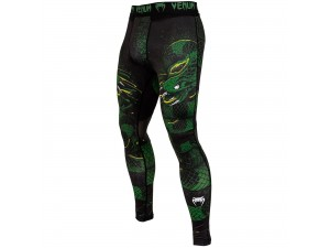 Анцунг Venum Green Viper Spats black green