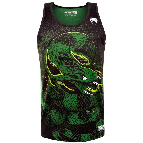 Потник Venum Green Viper Tank Top  black/green