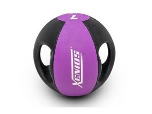 Медицинска топка с дръжки 7 кг, Xenios