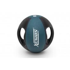 Медицинска топка с дръжки 9 кг, Xenios