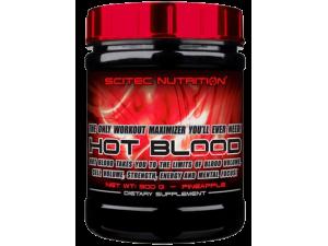 Хранителна добавка 300 г Scitec Nutrition Hot Blood 3.0