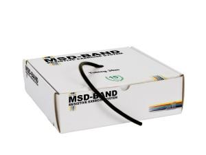 Ластик за физически упражнения, MSD-Band Special Heavy (черен)