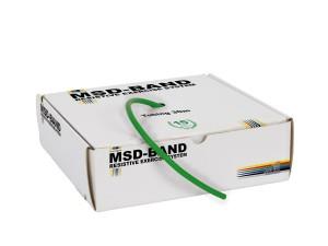 Ластик за фитнес упражнеия, MSD-Band Heavy (зелен)