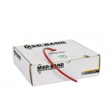 Ластик за физически упражнения, MSD-Band Medium (червен)