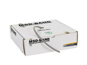 Ластик за физически упражнения, MSD-Band Super Heavy (сив)