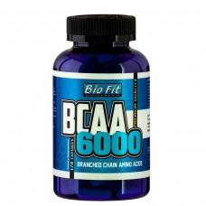BCAA 6000,120 капс, Bio Fit