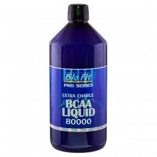 Аминокиселини с разклонена верига и глутамин - BCAAs Liquid 80000, 1л, Bio Fit