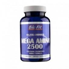 Аминокиселини - Mega Amino 2500, 75 табл, Bio Fit