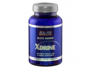 Енергиен биостимулатор - XDrine, 90 капс., Bio Fit