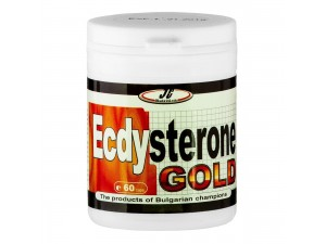 Екдистерон с радиола Ecdysterone Gold 60 капс.