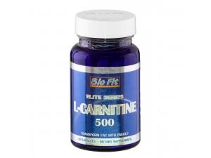 L-карнитин 500 мг, 60 капс, Bio Fit