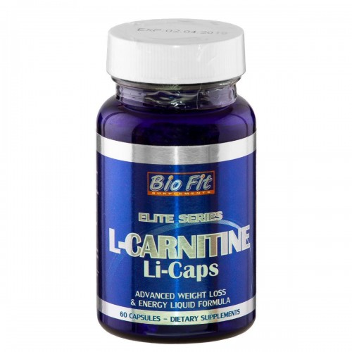 L-карнитин Li-Caps®, 60 ли-капс, Bio Fit
