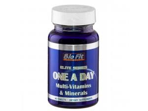 Витамини, минерали и микроелементи - One-A-Day, 30 табл, Bio Fit
