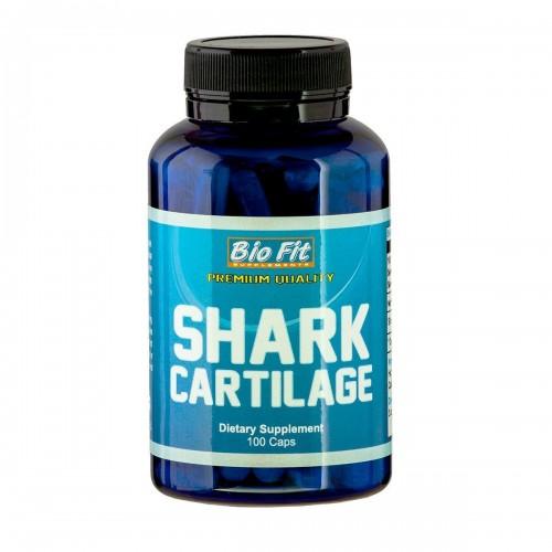 Хрущял от акула Bio Fit Shark Cartilage 500 mg, 100 капс.