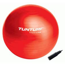Шведска топка, 65 см, червена, Tunturi