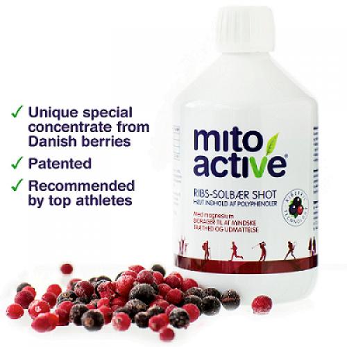 Mитохондриален активатор - MitoActive Liquid, 0,5 л, ASIROS