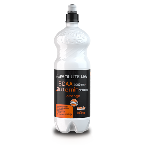 BCAA + Glutamine, Absolute Live, 1 л готова напитка