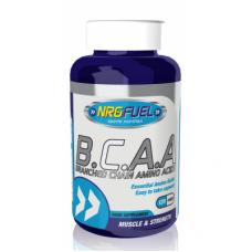 NRGFUEL BCAA 1000 мг - аминокиселини с разклонена верига, 120 капс.