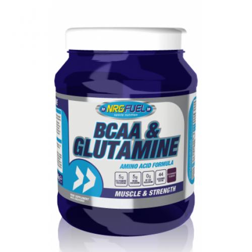 NRGFuel BCAA & Glutamine - BCAA с глутамин, 500 гр.
