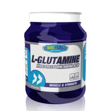 NRGFUEL Glutamine - Глутамин, 600 гр.