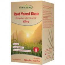 Natures Aid Red Yeast Rice 600 мг. 90 капс.