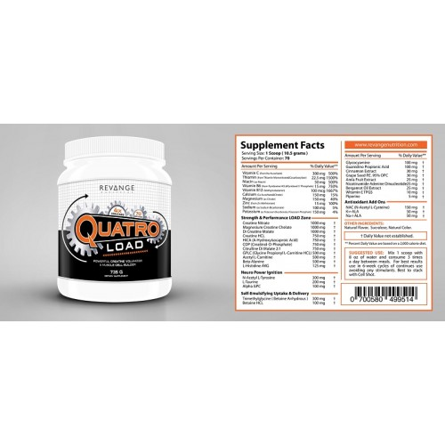 Quatro Load, 735 гр, Revange Nutrition
