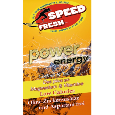 Енергийна напитка Speed Fresh Power Energy - концентрат (1000 ml)