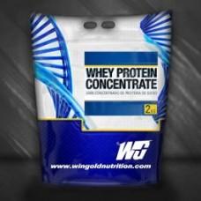Суроватъчен протеин концентрат - Whey Pro+, 2 кг, Wingold