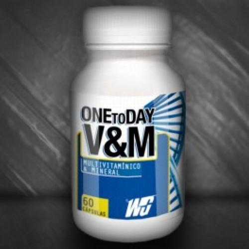One to day V&M - витамини, 60 капс, Wingold