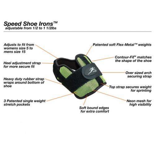 Fit Motion Тежести за крака с подметка 1 кг./ чифт